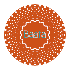 logo Basta orange BD